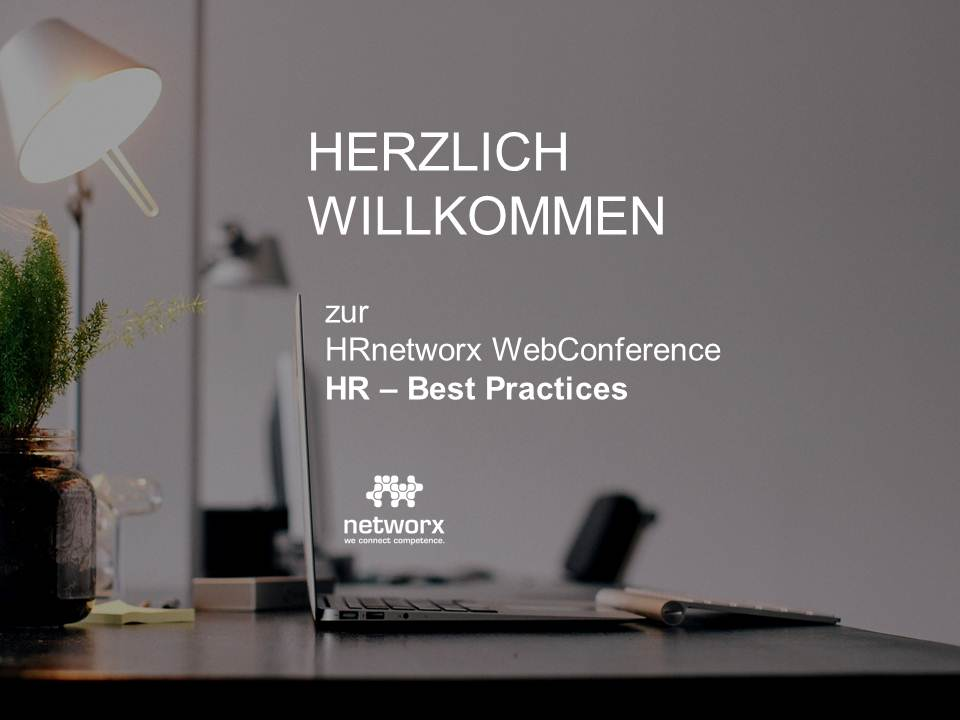 "Bericht nach der WebConference ""HR – BEST PRACTICES"""