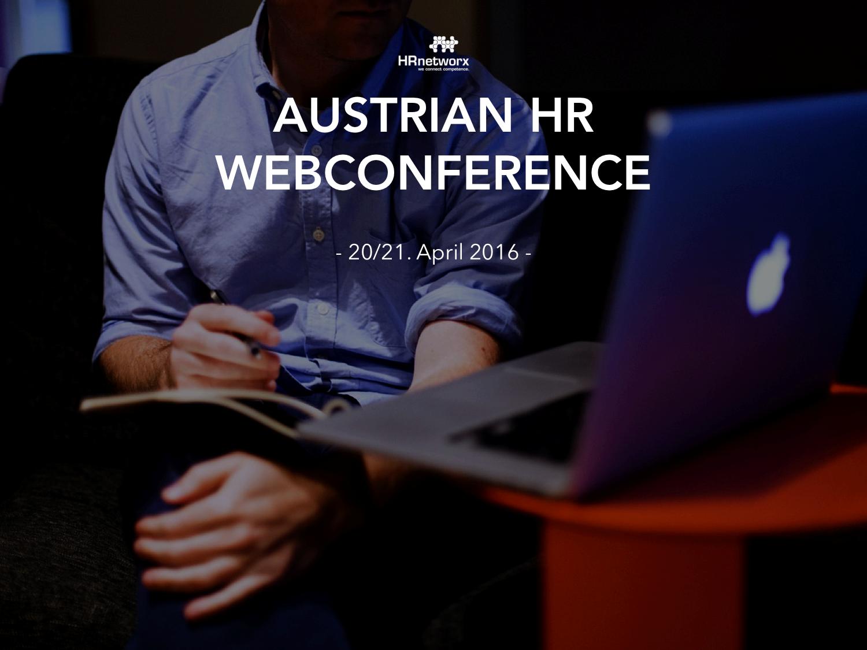 Austrian HR WebConference
