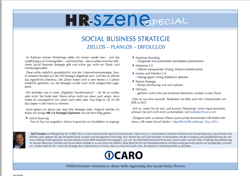 Social Business Strategie