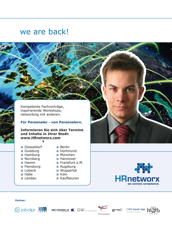 HRnetworx Netzwerk-Treffen