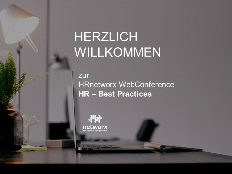 """Bericht nach der WebConference """"HR – BEST PRACTICES"""""""