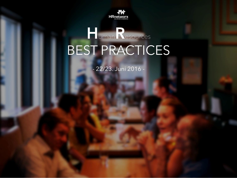 """HRnetworx WebConference """" HR – Best Practices """""""
