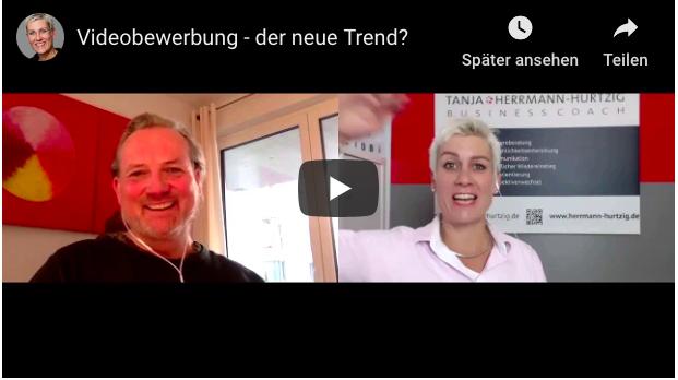Videobewerbung – der neue Trend?