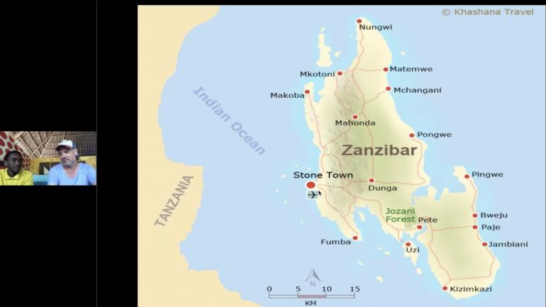 Sansibar Video mit dem Local Sebastian