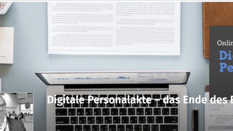 Webinar: Digitale Personalakte – das Ende des Excellulitis ?!