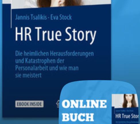 """ONLINE-BUCHLESUNG UND LIVE BESPRECHNUNG VON """"HR TRUE STORY"""""""